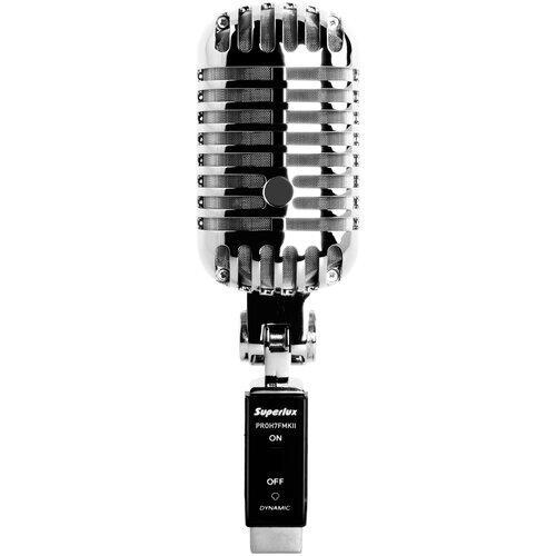 Микрофон Superlux PROH7FMKII, серебристый