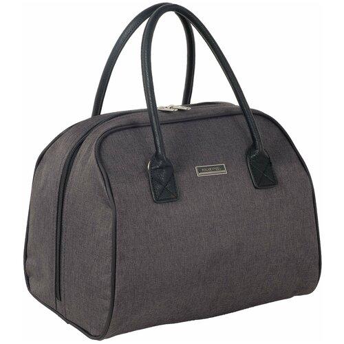 Дорожная сумка П7113ж темно-серый сумка polar polar po001bwfyur2
