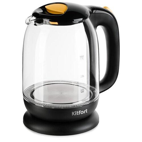 Чайник Kitfort KT-625-4, желтый