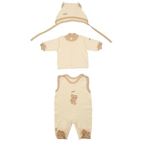 Купить Комплект одежды LEO размер 62, кремовый/бежевый, Комплекты