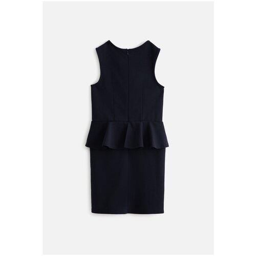 Фото - Платье для девочек размер 122, темно-синий, ТМ Acoola, арт. 20240200081 платье mayoral размер 7 122 темно синий