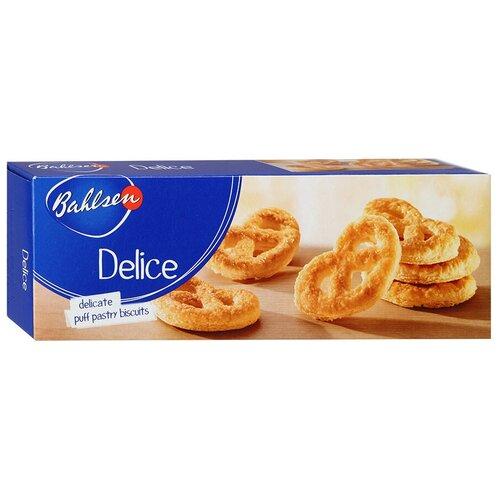 Печенье Bahlsen Delice слоеное крендельки, 100 г печенье слоеное 550г мон шарме
