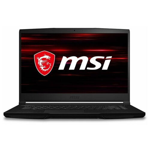 "Ноутбук MSI GF63 10UC-423XRU (Intel Core i5 10500H/15.6""/1920x1080/8GB/512GB SSD/DVD нет/NVIDIA GeForce RTX 3050 4GB/DOS) 9S7-16R512-423 черный"
