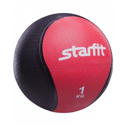 Медбол Starfit PRO GB-702, 1 кг красный