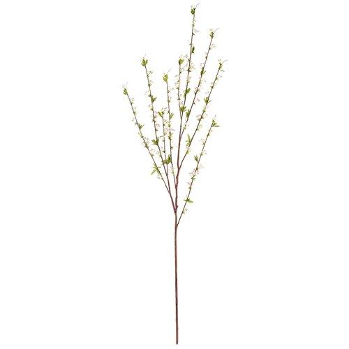 Искусственная ветвь Спирея белая большая 165 см, цвет: белый pablo de gerard darel белая блузка с рельефной отделкой