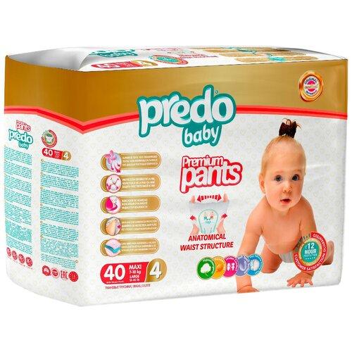 Predo Baby трусики 4 (7-18 кг) 40 шт.