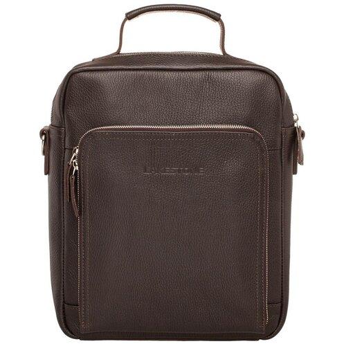 Фото - Сумка через плечо Garnet Brown мужская кожаная коричневая сумка milano brown 9282 коричневая