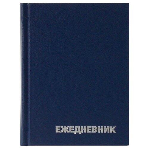 Купить Ежедневник OfficeSpace универсальный недатированный, бумвинил, А6, 160 листов, синий, Ежедневники, записные книжки