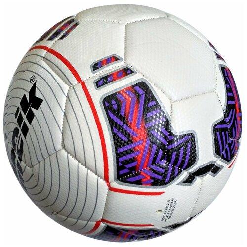 R18033-2 Мяч футбольный Meik-311 4-слоя TPU+PVC 3.2, 420 гр, машинная сшивка