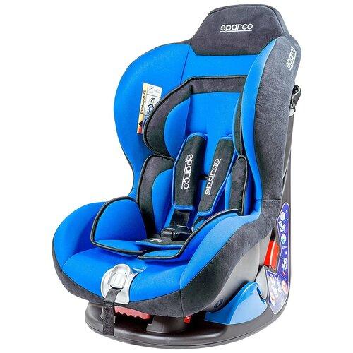 Автокресло группа 0/1 (до 18 кг) sparco F5000K, синий