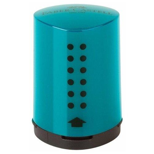 Faber-Castell Точилка Grip 2001 Mini бирюзовый недорого