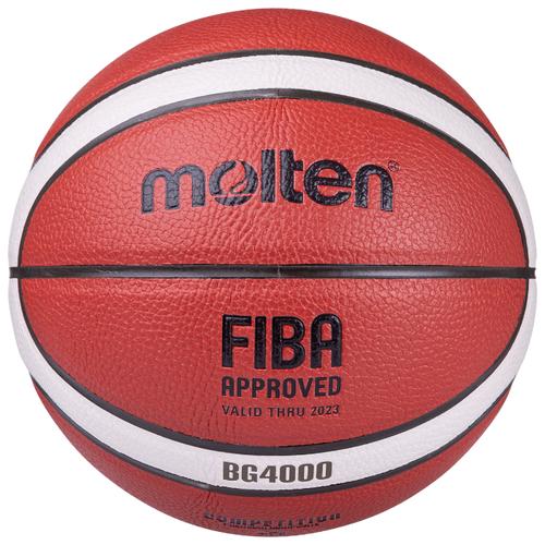 Баскетбольный мяч Molten B5G4000, р. 5 orange/ivory