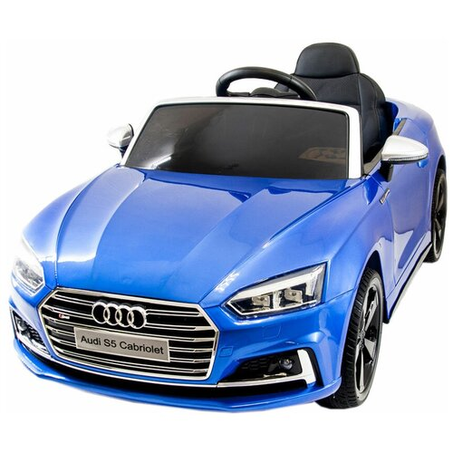 Фото - Harleybella Автомобиль Audi S5 Cabriolet Luxury, синий электромобили harleybella hummer hx 12v
