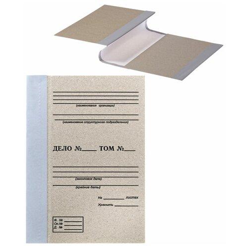 OfficeSpace Папка архивная для переплета А4, 50 мм, переплетный картон/бумвинил бурый