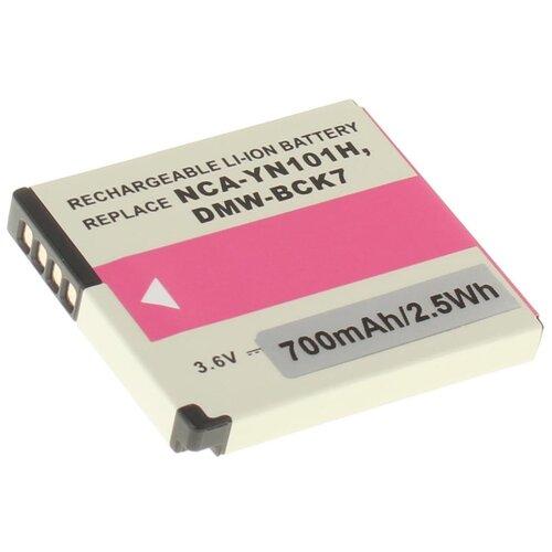 Аккумулятор iBatt iB-U1-F226 700mAh для Panasonic Lumix DMC-FS16, Lumix DMC-S1, Lumix DMC-FS40, Lumix DMC-S3, Lumix DMC-FS28, Lumix DMC-SZ1, Lumix DMC-FP5, Lumix DMC-FS35, Lumix DMC-FS45, Lumix DMC-S2,