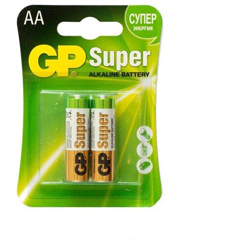 Фото - Батарейка GP Super Alkaline AA, 2 шт. батарейка energizer max plus aa 4 шт