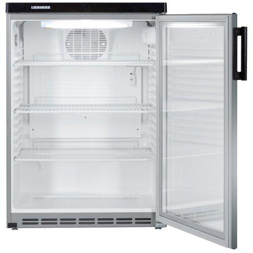 Холодильный шкаф Liebherr FKvesf 1803 серебристый