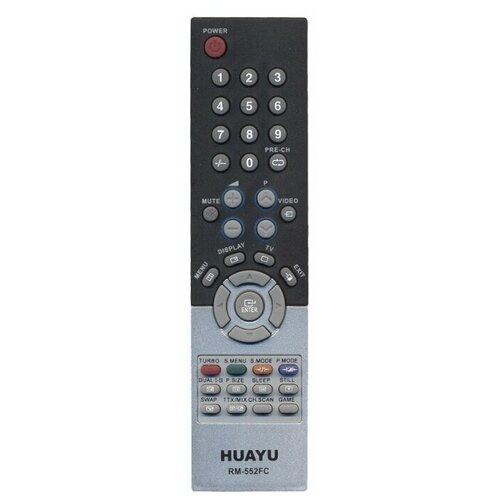 Фото - Пульт ДУ Huayu RM-552FC для телевизоров Samsung, черный пульт ду huayu для samsung ah59 02147k