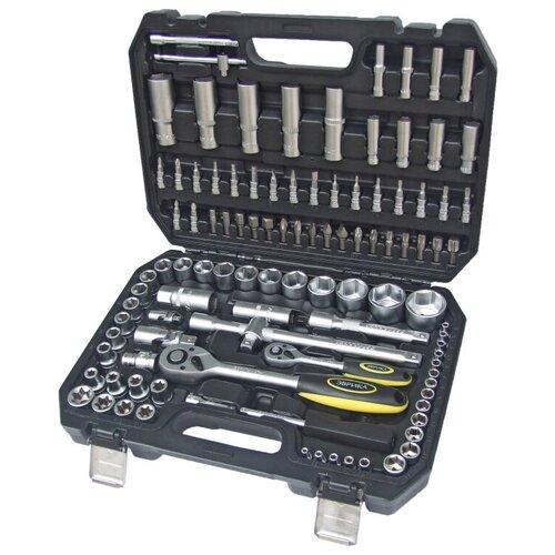 Фото - Набор инструментов Эврика ER-80108, 108 предм., черный/серебристый набор инструментов эврика er 31100 10 предм