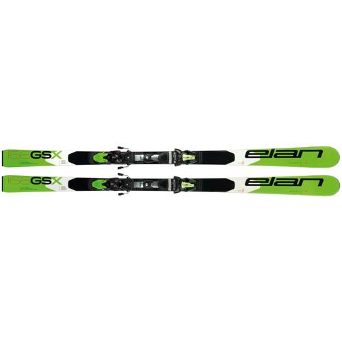 Горные лыжи детские без креплений Elan GSX Team Plate (18/19), 166 см