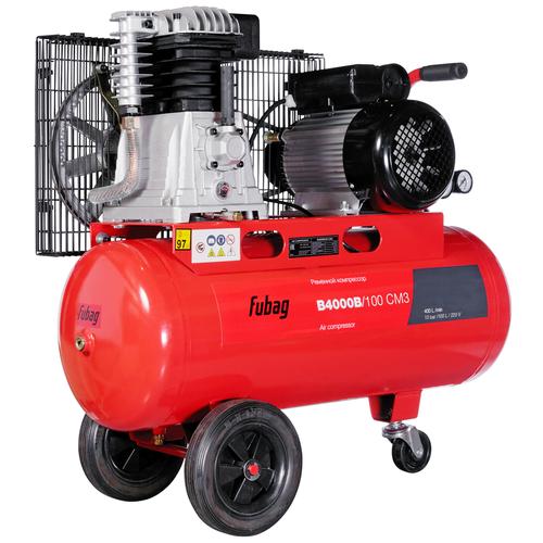 Компрессор масляный Fubag B4000B/100 СМ3, 100 л, 2.2 кВт компрессор fubag vcf 100 сm3 440л мин 100л 10бар 2 2квт 220в