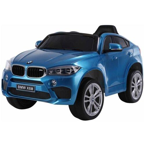 RiverToys Автомобиль BMW X6M JJ2199, синий глянец