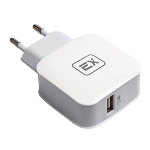 Фото - Зарядное устройство Exployd Sonder 1xUSB 2.4A QC3.0 White EX-Z-433 зарядное устройство exployd sonder 1xusb 2 4a qc3 0 кабель type c white ex z 633