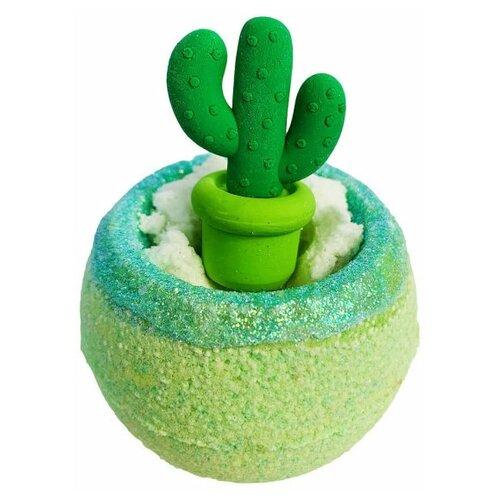 Купить Бомбочка для ванн, бурлящий шар с игрушкой, Шарик Кактус, гейзер для ванн 130гр, Bomb Master