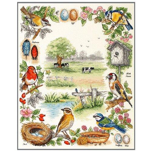Купить Набор для вышивания Anchor Birds Sampler 44*35см, MEZ, PSC52, Наборы для вышивания