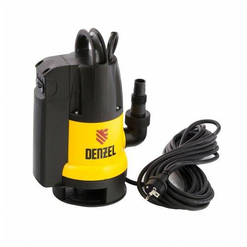 Дренажный насос Denzel DP800A (800 Вт) дренажный насос denzel dp450s 450 вт