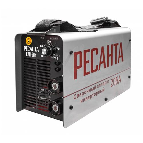 Сварочный аппарат инверторного типа РЕСАНТА САИ-205 MMA сварочный аппарат инверторного типа ресанта саи 190 краги mma