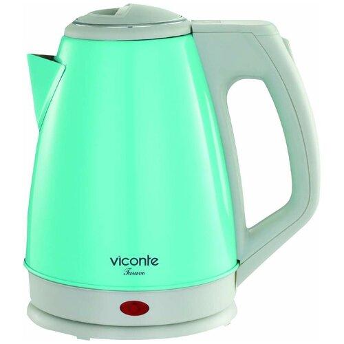 Чайник Viconte VC-3282, бирюзовый