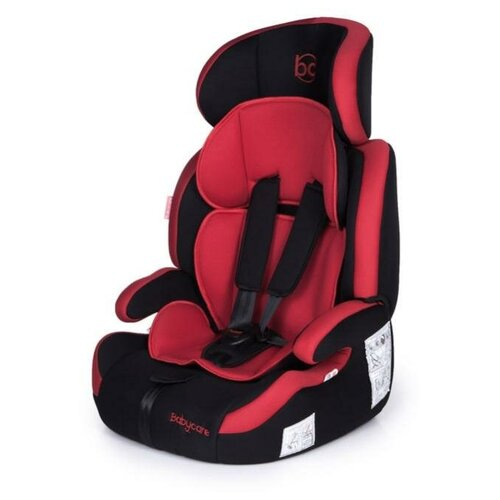 Автокресло группа 1/2/3 (9-36 кг) Babycare Legion, black/red автокресло группа 1 2 3 9 36 кг actrum mars black red border