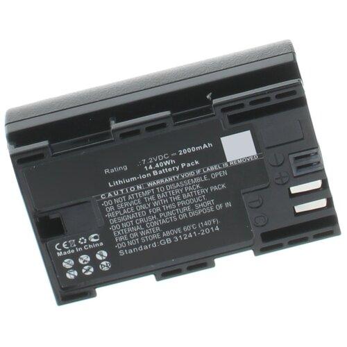 Фото - Аккумулятор iBatt iB-B1-F450 2000mAh для Canon LP-E6, LP-E6N, canon lc e6e для lp e6 сетевое