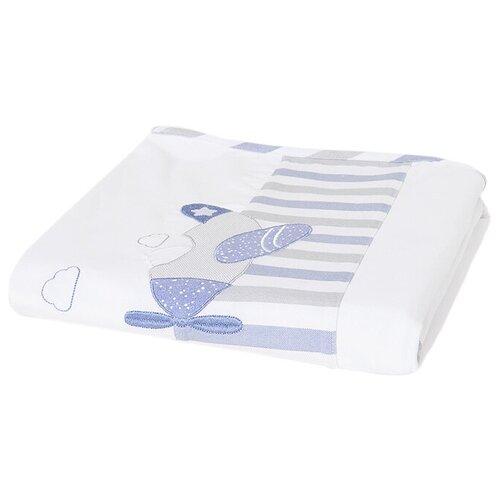Купить Одеяло Mayoral 21-09858-015 100x80 см lake blue, Покрывала, подушки, одеяла