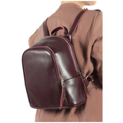 Фото - Рюкзак женский натуральная кожа MEYNINGER СВ339/бордовый, модель рюкзак рюкзак 605030 бордовый
