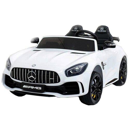 Купить RiverToys Автомобиль Mercedes-Benz AMG GTR HL289, белый, Электромобили