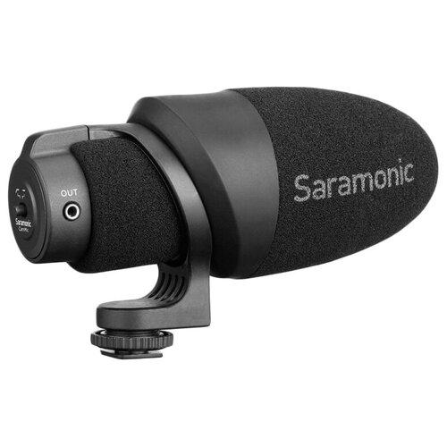 Микрофон Saramonic CamMic, направленный, моно, 3.5 мм TRS + TRRS