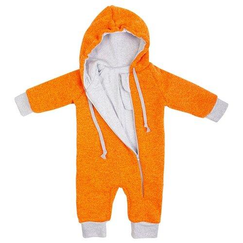 Купить Комбинезон Сонный Гномик, размер 80, оранжевый, Комбинезоны