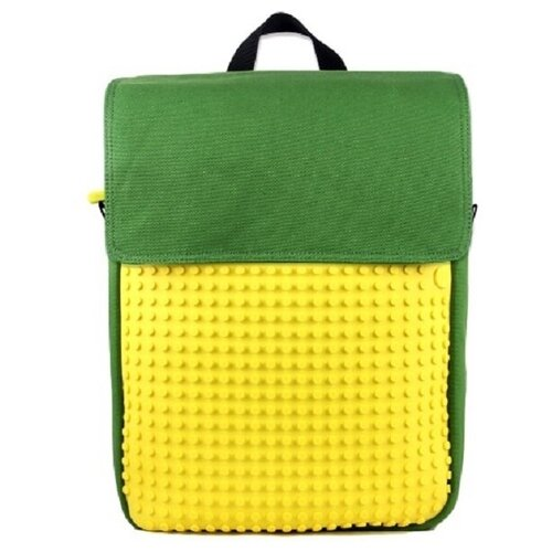 Фото - Upixel Рюкзак Canvas Top Lid pixel Backpack (WY-A005), зеленый/желтый upixel рюкзак canvas classic pixel backpack wy a001 желтый