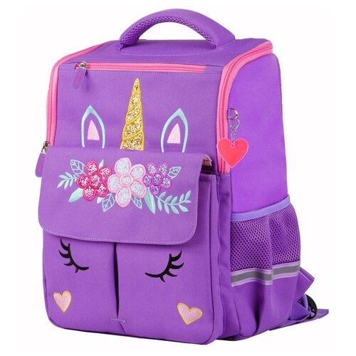 Купить Berlingo ранец Concept Единорог, фиолетовый, Рюкзаки, ранцы