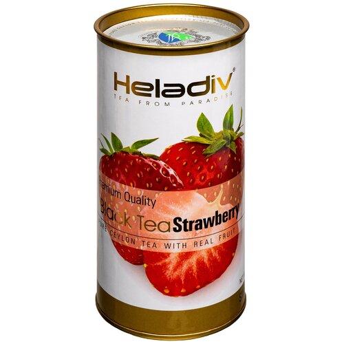 чай черный heladiv premium quality black tea lemon 100 г Чай черный Heladiv Premium Quality Black Tea Strawberry, 100 г