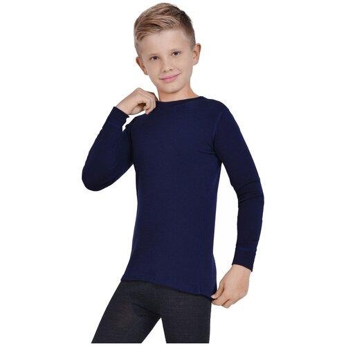 Лонгслив NORVEG Soft Teens 4SJ2HLRU, размер 164-170, синий