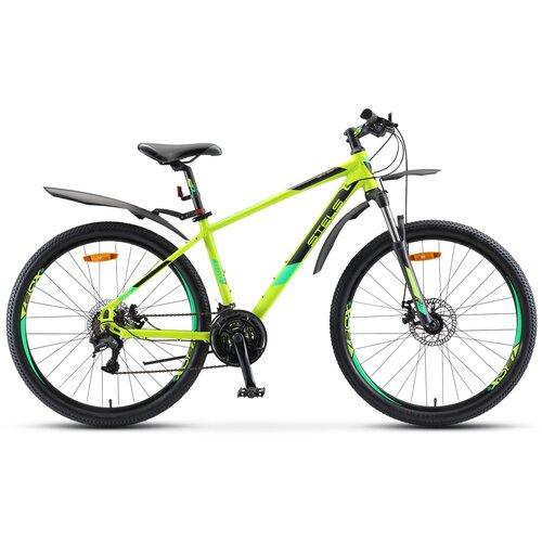Горный (MTB) велосипед STELS Navigator 645 MD 26 V010 (2021) лайм 16 (требует финальной сборки)