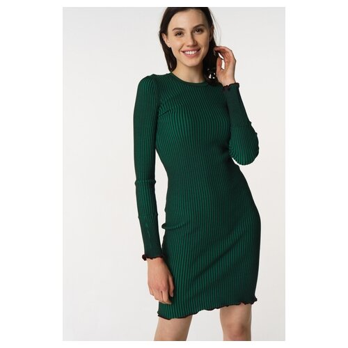 Платье Scotch & Soda 133.18FWLM.0788146627.76 женское Цвет Зеленый Однотонный р-р 42 XS