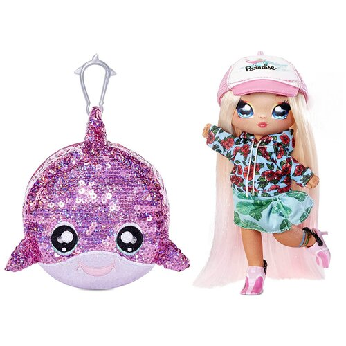 Кукла Na! Na! Na! Surprise Сверкающая серия 1 Surfer Krysta Splash, 22 см, 573760 недорого