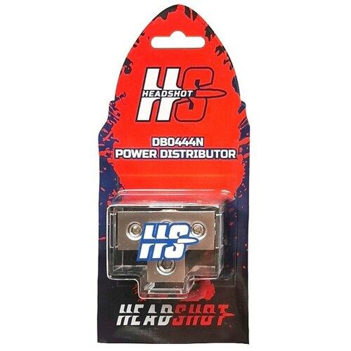 Дистрибьютер питания Kicx Headshot DB0444N никель