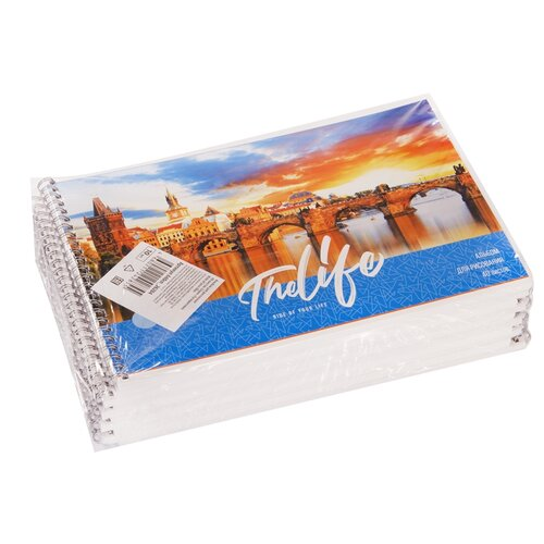 Купить Набор альбомов для рисования ArtSpace Путешествия. Ride of your life 28, 5 х 20, 3 см, 100 г/м², 40л. (10шт.), Альбомы для рисования