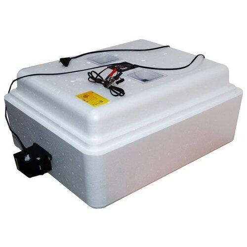 Инкубатор Завод ЭлектроБытовых Товаров Несушка на 77 яиц, автоматический переворот, цифровой терморегулятор, 12В, с вентиляторами белый