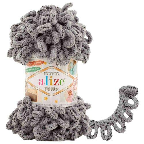 Купить Пряжа для вязания Alize 'Puffy' 100г 9м (100% микрополиэстер) (535 коала), 5 мотков